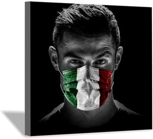 Ronaldo Canvas Poster and Wall Art Picture Print Modern Paintings for Family Living Room Decor