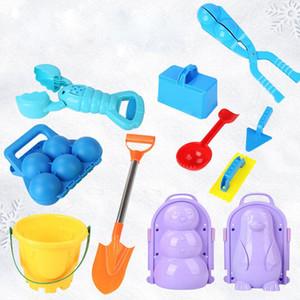 Party Gunst Winter Outdoor Kids Spielzeug Schneeballclip für Schneeball Kampf Artefakt Schneemann Schneeballclip für Schneespielzeug Werkzeug XD24259