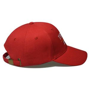 Trump 2024 Hut Trump Baumwolle Sonnencreme 2024 Trump Baseballkappe USA Kappe Rot und Schwarz Farbe HHD4821