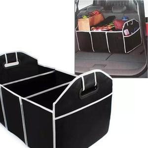 Коробки для хранения автомобиля Автомобильный Многомагазин складной складной складной Очень большие складные коробки для хранения Сумки для хранения багажника, монтажным галонгом Организатор ствола ZYY151