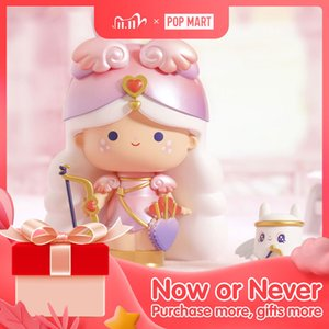 POP MART Limited Edition Momiji Cupingo&Kisses True Love Messengers 4-16cm with gift for Chinese Valentine's Day COLLECTIBL