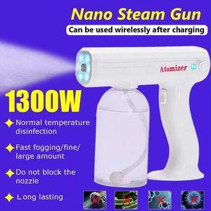 Wireless Nano Blue Ray Spray Sterilizer Mute Handheld Sprayer USB Charging