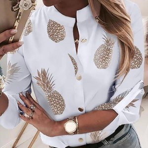 JODIMITTY Womens Shirt Pineapple Spring Long Sleeve Womens Blouses 2019 Women Tops And Blouses 2020Top Female Autumn New