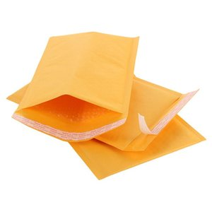 140*200mm Kraft Paper Bubble Envelopes Bags Mailers Padded Shipping Envelope With Bubble Mailing Bag Business Supplies free shipping