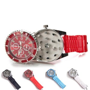 42MM Watch design Grinder Zinc Alloy Metal 4 Colors Spice Pollen Creative Hand Muller Crusher herb grinder
