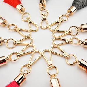 1 unids moda 4 capas borlas de seda franja bricolaje joyería prendas decorativas suministros llavero bolso colgante artesanías borla recorte H jllslt