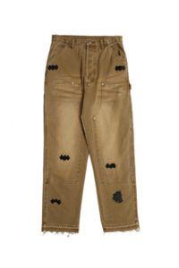 2020SS sur mesure Mens Hommes design Paris Italie Demin Skinny Jeans pour homme et femme Livraison gratuite 0222