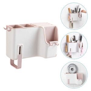 1Pc Wall-mounted Chopstick Holder Cutlery Rack Cutter Rack Flatware Storage Cage Chopstick Cage for Decor Home Kitchen