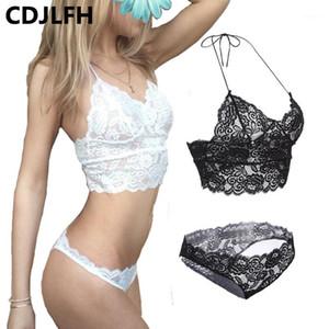 Cdjlfh marke frauen sexy bh kurze sätze romantische Versuchung Lace BH Set t-Pants Unterwäsche Set a b c cup 32 34 36 381