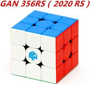 CuberSpeed Gan 356 RS 3x3 Stickerels Magic Cube Gan Gan 356 R S 3x3x3 Speed Cube Puzzle (versione 356RS) Y200428