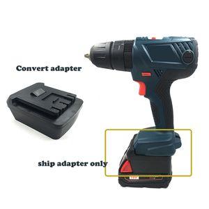 Adaptateur de batterie pour Milwaukee M18 18V Lithium Conforme pour perceuse Bosch 18V / lampe de poche / pilote / scie / outil de marteau + plafonnier de charge
