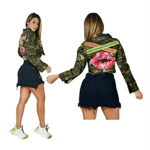 Women Outerwear & Coats fall clothes sexy club button sequins long sleeve cardigan sweatshirt hoodies outerwear print letter hot sell 0633