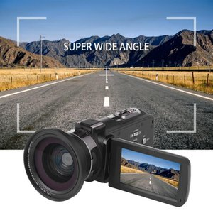 4K Video Camera Ultra HD 30MP WiFi DV Camcorder Digital Video Camera 270 Degree Rotation Touch Screen 16X Digital Zoom