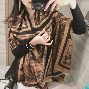 African women scarfs muslim embroidered big scarf nice design on the back soft cotton scarf with BEADS for shawls11