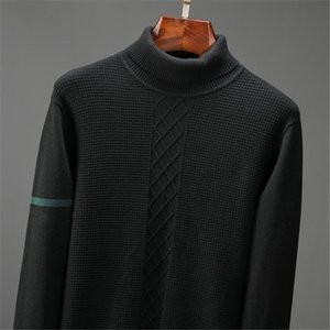 Hot sale Sweater Men 2021 fashion Pullover Sweater Male O-Neck turtleneck Slim Fit Knitting Mens Sweaters Man Pullover Men