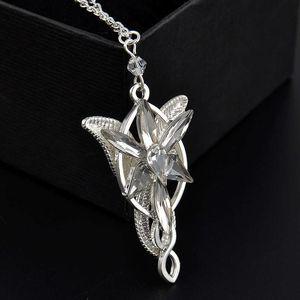 Films pour hommes et femmes accessoires roi roi des anneaux Fairy Princess Collier étoile Twilight