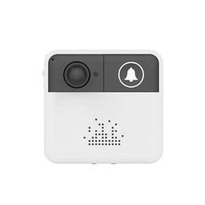 جرس الباب wifi الجرس الذكية الفيديو إنترفون باب الهاتف جرس كاميرا الأمن اللاسلكي اتجاهين بطارية الصوت