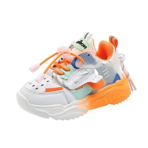 2020 Autumn Kids Sport Shoes For Baby Boy Girls Running Sneakers Breathable Soft Leisure Trainers Children Toddler Casual Shoes