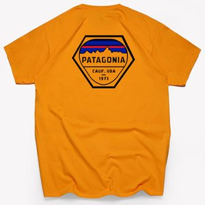 Patagonia Designer T-рубашки хип-хоп топы мода бренд мужская женская рубашка летние повседневные хорошие хлопковые футболки с коротким рукавом футболка