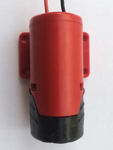 Para Milwaukee M12 12V Adaptador de batería conversa a Dock Power 12AWG DIY Robotics (Red)