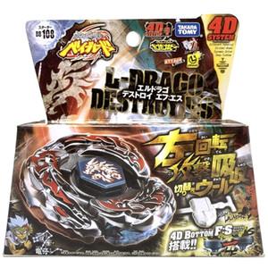 100% Original Takara Tomy Beyblade BB108 L Drago Destroy Destructor F:S+Launcher as Children's Toys Q1121