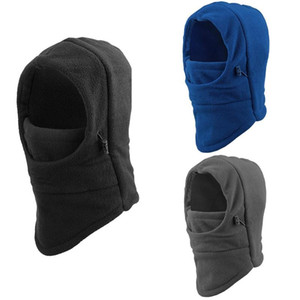 25# Winter Sport Cycling Cap Bike Full Face Neck Warmer Men Women Scarf Ski Bicycle Motocycle Fleece Head Cap Hat Gorras