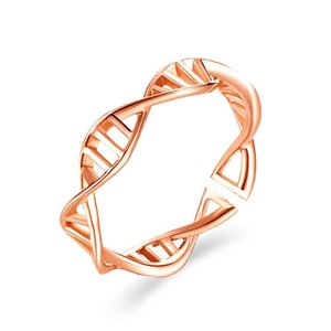 30pcs Lot Brand New Rose Gold Cross Rings Fashion Rhombus Geometric Opening Rings Women Alloy Gift Hand Jewelry Ornaments Accessories