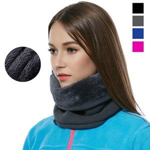 Maske Radfahren Thermal Warm Dual-Layer Frauen Hals Outdoor Winter Polar Schal Wärmer Flieh Motorrad Skifahren Männer FA dicke ekwnm