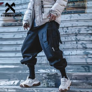 Мужские брюки 11 Bybb's Dark Tactical Multi Pockets Cargo Pant Man 2021 зима Harajuku Joggers Men Truseers Streetwear Hip Hop