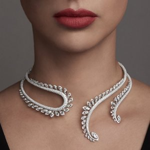 jankelly Nigeria 2pcs Bridal Zirconia Jewelry Sets For Women Party, Luxury Dubai Nigeria CZ Crystal Wedding Jewelry Sets 201123