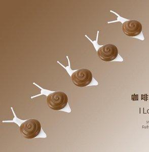 Mignon escargot magnet aimant souvenir plastique réfrigérateur magnet magnet titulaire de carte 3D autocollant de message pour enfants cuisine décor de la maison wmtbrx