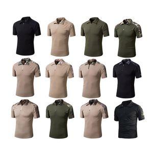 Woodland aire libre Caza Disparos de EE.UU. Battle Dress Uniform táctico del combate del Ejército BDU Traje de camuflaje camisa de camuflaje camiseta NO05-005