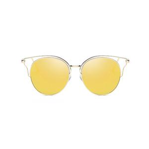 Uanview (Uanview Femme NOUVEAU MODE Polarized Metal Coloré Coloré Sunglasses WD0874