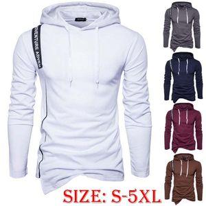Commercio all'ingrosso personalizzato New Fashion Felpa casual Felpa a maniche lunghe con cappuccio Sport Sport Plus Size Pullover Maglione