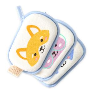 Baby Douche Coton Baby Bain Sponge Serviette de bain pour enfants Ballon Ballon mignon animal cadeaux pour enfants Widfs