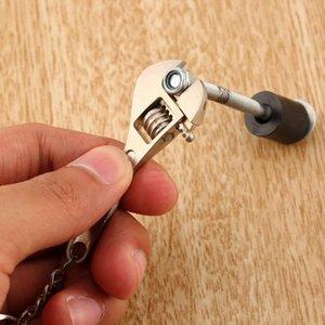 조정 가능한 genboli 패션 도구 매력적인 참신 렌치 금속 스패너 키 체인 링 열쇠 고리