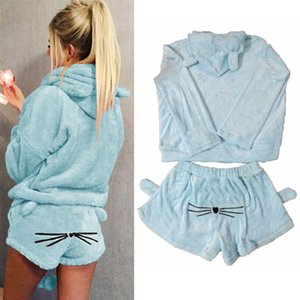Winter Velvet Sweatshirts Women Tracksuit Joggers Two Piece Set Ladies Casual Warm Hoodies Suits For Sports Gym Clothing #3