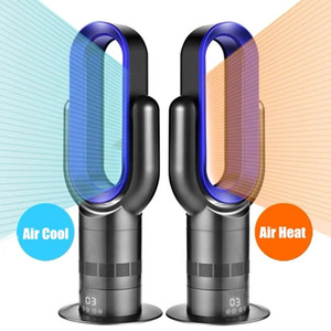 Electric Room Space Heater Air Cool and Hot Wind Table Bladeless Fan