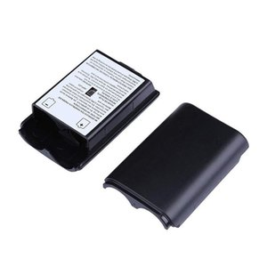 Plastic Battery Cover Battery Pack Case Repair Part Replacement for Xbox 360