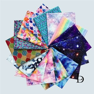 Cotton, design cloud and starry sky, 100%, sewing material, shirt, pillow, mask