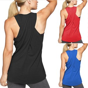 2020 fitness vest women's fashion casual cross yoga vest