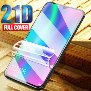 21D Screen Protector For Huawei P30 P40 Honor 10 9 Lite 20 Pro Hydrogel Film for Iphone 12 pro max mini Not Glass