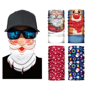 Washable Christmas Magic Scarf Balaclava Warm Neck Gaiter Bandana Motorcycle Half Face Mask Outdoor Cycling Magic Scarf IIA924