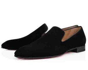 2021 Gentleman Party Bussiness Dress Slip On Loafers Shoes Dandelion Sneaker Red Bottom Oxford Luxury Men's Leisure Fashion Flat