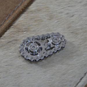 Sprockets Chains Edc Metal Toy Gear Chain Gyroscope 2F9G