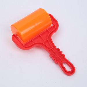 ABS Plastic Roller Bambini Strumento per bambini FAI DA TE Craft Plastene Clay Kid Arts Toys Maniglia Slingshot Trolley Accessori ruota Vendita calda 1 6HSA G2