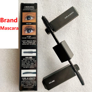 Brand Black TWO-HEAD BRUSH Mascara LEGIT LASHES Mascara MAJOR VOLUME CURL LENGTH Cruling Lengthening 8.5ml
