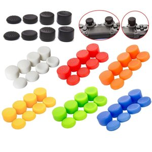 8pcs set Enhanced Silicone Analog Controller Thumb Stick Grip Cap Skin Cover for PS5 PS4 PS3 xbox360 game controller