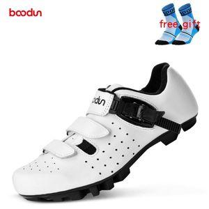 Boodun new MTB Road Bike shoes Men Mountain Bike Self-Locking Shoes Outdoor Athletic Bicycle Racing sapatilha ciclismo