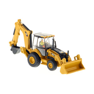 Diecast Masters (#85263) 1 87 (HO) Scale Caterpillar 450E Backhoe Loader Vehicle CAT Engineering Truck Model Cars Gift Toys Z1202